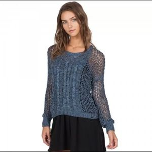 🌊 Volcom NWT Just Knit It Crew Pullover Sweater s